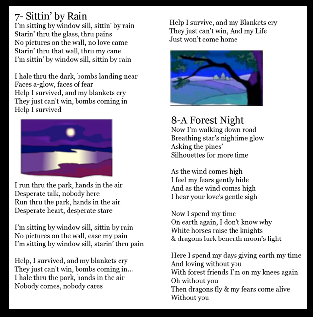 Lyrics Rain Forest